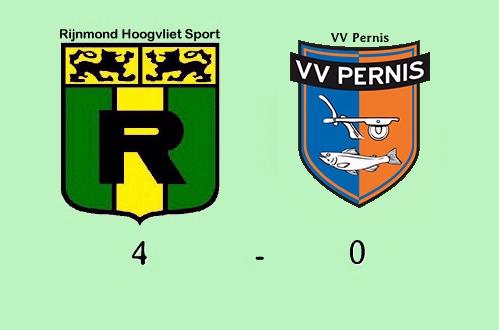 Rijnmond Hoogvliet Sport Wint Derby