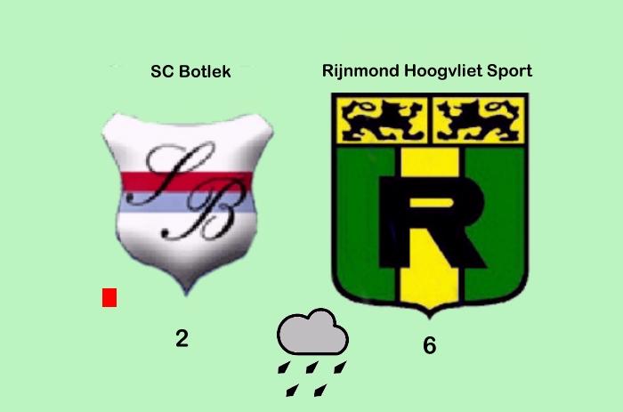 Rijnmond Hoogvliet Sport Wint Bruggenderby